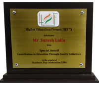 Suresh Lulla - Higher Education Forum
