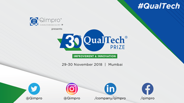 30th QualTech Prize 2018: Recognizing Middle Level Managers