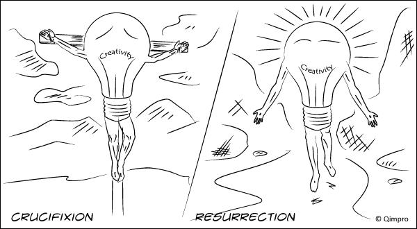 Crucifixion & Resurrection - Qimpro