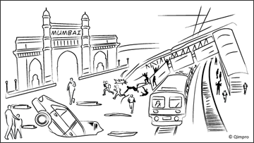Mumbai: The capital for potholes and collapsed footbridges