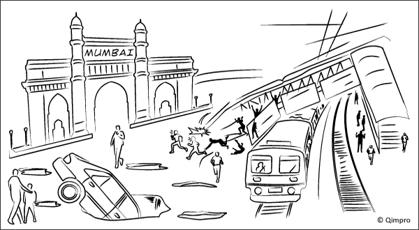 Mumbai: The capital for potholes and collapsed footbridges - Qimrpo