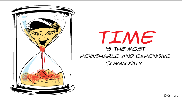 Time is most perishable and expensive commodity - Qimpro