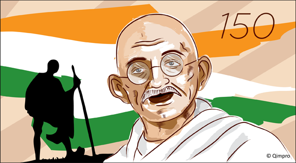 Remembering Mahatma Gandhi @ 150 - Qimpro