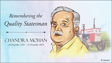 Chandra Mohan – The Tractor Man