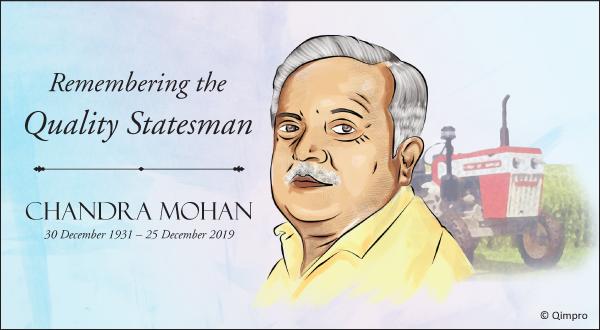 Chandra Mohan - The Tractor Man - Qimpro