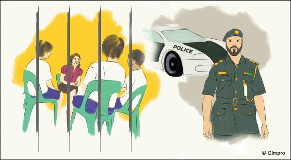 Singapore Prisons & Dubai Police - Qimpro