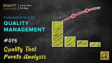 QUALITY TOOL: PARETO ANALYSIS