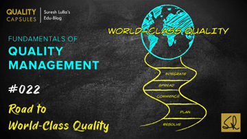 Road to World-Class Quality