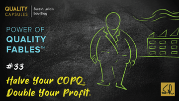 Halve Your COPQ. Double Your Profit.