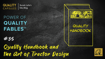 Quality Handbook and the Art of Tractor Design