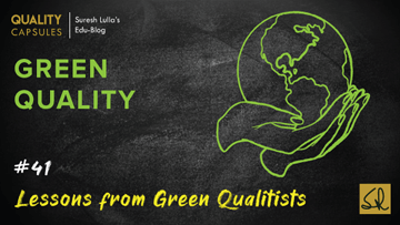Lessons from Green Qualitists