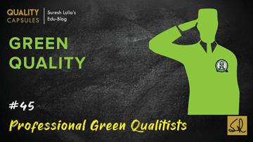Professional Green Qualitists