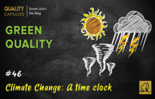 CLIMATE CHANGE: A time clock