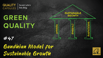 Gandhian Model for Sustainable Growth