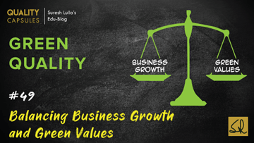Balancing Business Growth and Green Values