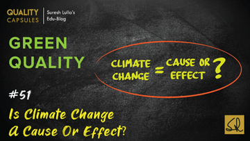 Is Climate Change a Cause or Effect?